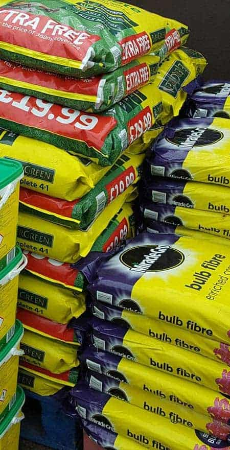 Huge range of Compost available at Bumbles Plant Centre