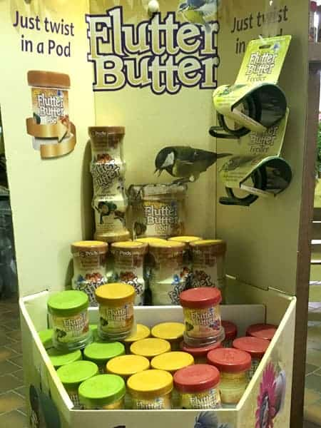 Flutter Butter bird food available at Bumbles Plant Centre
