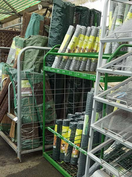 Mesh screening & netting available at Bumbles Plant Centre