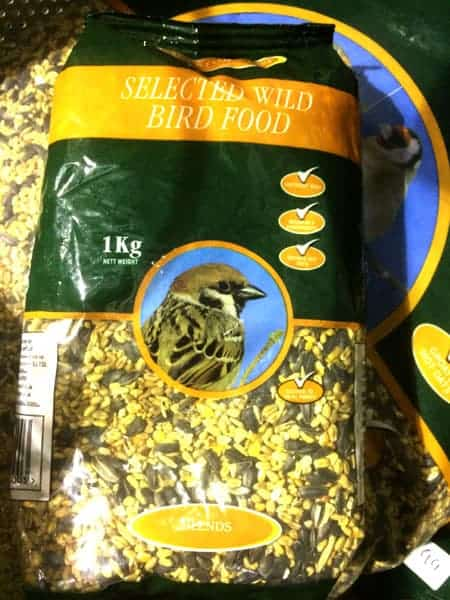 Wild Bird Feed available at Bumbles Plant Centre