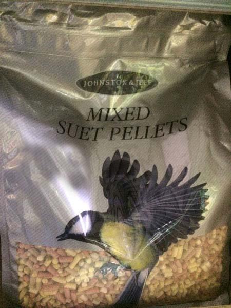 Mixed Suet Pellets available at Bumbles Plant Centre