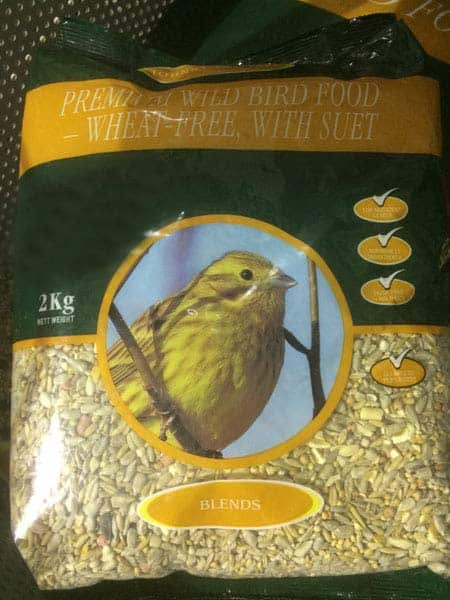 Premium Wild Bird Seed available at Bumbles Plant Centre
