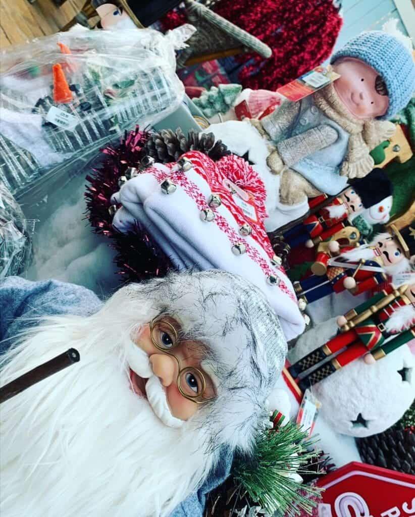 Christmas Decorations at Bumbles, 2020