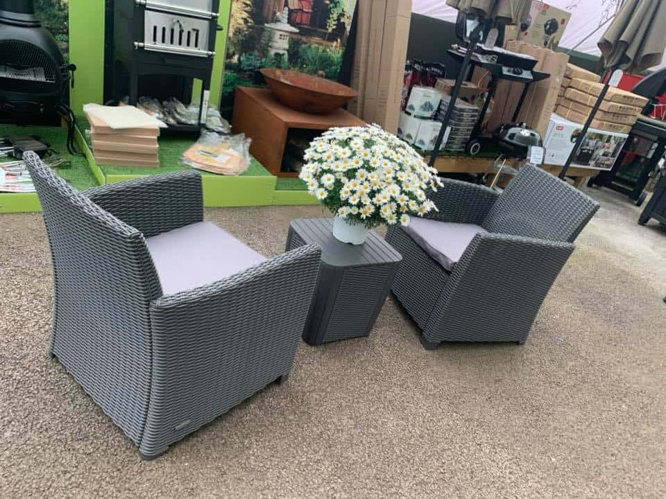 Outdoor living - patio furniture at Bumbles Plant Centre