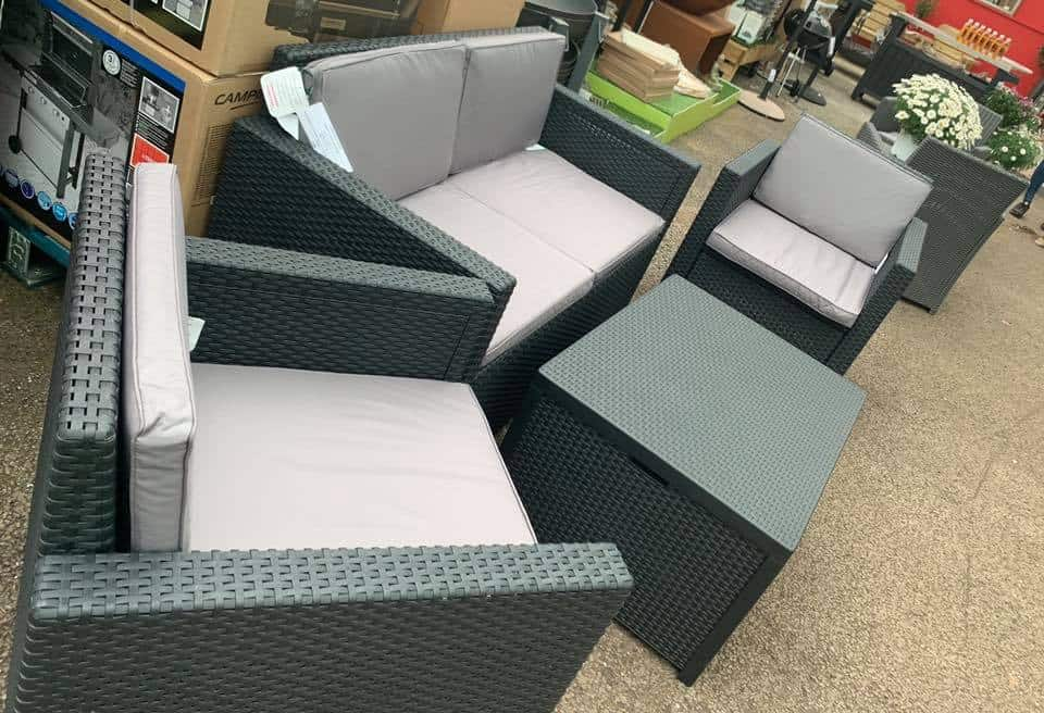 Patio furniture available at Bumbles Plant Centre