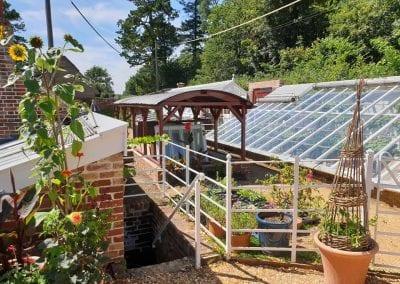 Kingston Lacy National Trust property kitchen garden