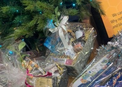Ready made and bespoke Christmas Hampers at Bumbles