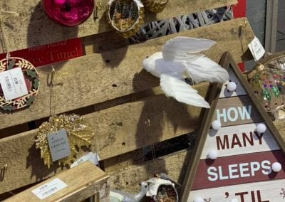 Christmas ornaments, baubles and more at Bumbles Plant Centre
